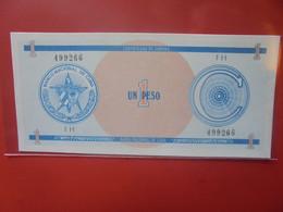 """CUBA 1 PESO SERIE """"C"""" Peu Circuler/Neuf (B.23) - Cuba"""