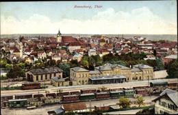 CPA Ronneburg In Thüringen, Blick Auf Die Stadt Mit Bahnhof - Andere