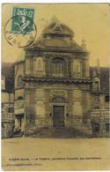 CPA GISORS, LE THEATRE ( ANCIENNE CHAPELLE DES CARMELITES ), EURE 27 - Gisors