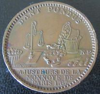 France - Médaille De L'Administration Des Monnaies Et Médailles - DANTE PONDUS - Bronze - Diam. 31mm, Poids : 15,8g - Firma's
