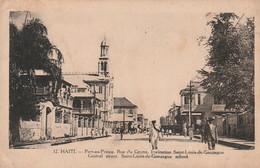 *** HAITI  ***  HAITI  Port Au Prince Rue Du Centre Neuve/unused  TTBE - Haiti