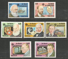 Guinea-Bissau 1983 Year , Mint Stamps MNH(**)  Famous People - Guinea-Bissau