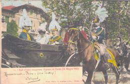 TORINO 1902 / I REALI D'ITALIA INAUGURANO L'ESPOSIZIONE - 10 MAGGIO 1902 - Tentoonstellingen