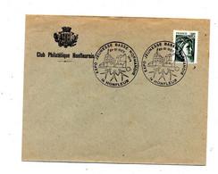 Lettre Cachet Honfleur Expo Jeunesse - Commemorative Postmarks