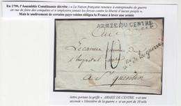 """1 Précurseur """"Armée Du Centre"""". Regardez Les Scans Tout Est Indiqué. (Sans Contenu) - 1701-1800: Precursors XVIII"""