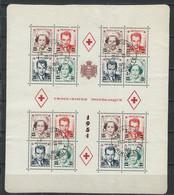 CZ-/-042- YVERT -  CROIX-ROUGE  BF N° 4A, OBL. , COTE 550.00 € , IMAGE DU VERSO SUR DEMANDE - Used Stamps
