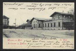 Carte P De 1900 ( Bienne / La Gare ) - BE Berne