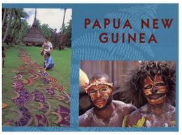 (RR 11) Papua New Guinea - Warriors + Art - Papua Nuova Guinea