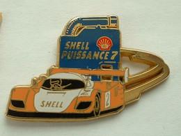 PIN'S PORSCHE - SHELL - ARTHUS BERTRAND - Porsche