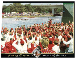 (RR 11) Australia - VIC - Geelong (image Of Geelong) Rowing Race - Course D'Aviron - Aviron