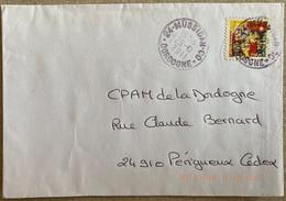 Cachet à Date Du 29-10-2011 De Mussidan (Dordogne) Sur Timbre Autoadhésif N° 494 - 1961-....