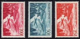 252-254 Saar-Flugpostmarken 1948 - Satz ** - Unclassified