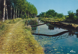 41 - (Loir Et Cher) -  CHATILLON Sur CHER - La Passerelle Sur Le Canal - Sonstige Gemeinden