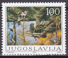Yougoslavië 1986, Postfris MNH, Nature, Birds - Ongebruikt