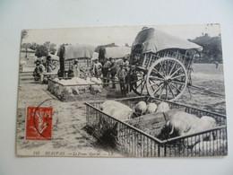 CPA / Carte Postale Ancienne / OISE (60) BEAUVAIS Le Franc Marché - Foire Aux Cochons - Beauvais