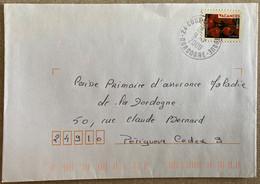 Cachet à Date Du 9-7-2009 De Coux-et-Bigaroque (Dordogne) Sur Timbre Autoadhésif N° 320 - 1961-....
