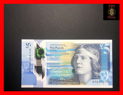 "SCOTLAND  5 £  11.2.2016  P. 370  Royal Bank Of Scotland   ""RBS""  Polymer  UNC - 5 Pounds"