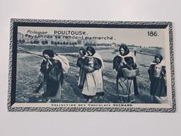Polska - Chromo Chocolat Suchard - Pologne - Poultousk - Paysannes ... Lot400 . - Suchard