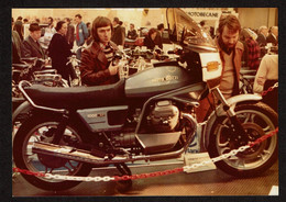 Photo Originale - Moto Moto Guzzi 1000 SP - Voir Scan - Auto's