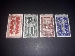 """ITAMIX33 REPUBBLICA ITALIANA 1950 CINQUANTENARIO BIENNALE D'ARTE DI VENEZIA """"XO,O"""" - 1946-60: Used"""