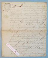An 7 De La République - Le Havre 1799 - Citoyen Barbier - écoulement Des Eaux Criques Presbytère De L'heure - Manuscrit - Historische Documenten