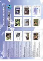 France Frankreich Collector Mon Timbre 2010 Image & Nature LPO Ligue De Protection Des Oiseaux MNH Neuf Postfrisch ** - Collectors