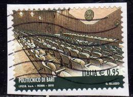 ITALIA REPUBBLICA ITALY 2015 LE ECCELLENZE DEL SAPERE POLITECNICO DI BARI € 0,95 USATO USED OBLITERE' - 2011-...: Oblitérés