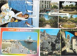 12230 - Lot De 1000 CPM, Divers Départements France, - 500 Postkaarten Min.