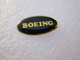 PIN'S   LOGO   BOEING - Aerei