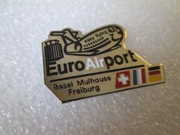 PIN'S   EURO AIR PORT   EASY FLYING - Aerei