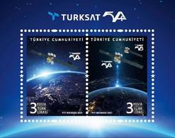 Turkey 2021, Turksat 5A, MNH S/S - Nuovi
