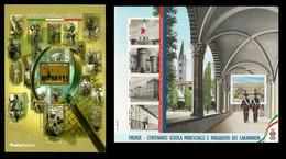 2020 ITALIA ⚔ 100° SCUOLA MARESCIALLI E BRIGADIERI Dei CARABINIERI + Giornata Filatelia ⚔ Italia Al Lavoro - 2011-...: Neufs