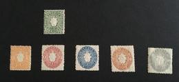 Sachsen - Mi 13 To 18 (6 Stamps) - Neuf Avec Charnière * MH - Sachsen