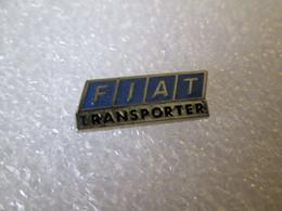 PIN'S    FIAT   TRANSPORTER - Fiat