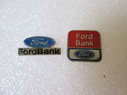 PIN'S    LOT  2  FORD  BANK - Ford