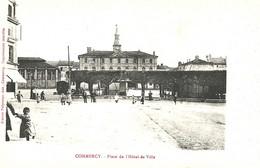Commercy   Place De L'Hotel De Ville - Commercy
