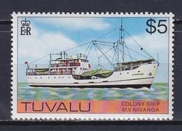 TUVALU 1976, Mi# 37X, CV €50, Part Set, Ships, MNH - Tuvalu