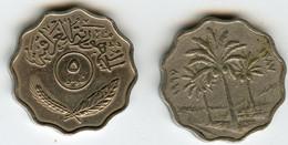 Iraq 5 Fils 1967 - 1387 KM 125 - Iraq