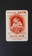 Carte Parfumée Ancienne Shyb - Fontan 2 A446 - Vintage (until 1960)