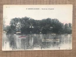 ENGHIEN LES BAINS Vue Du Lac Rive Gauche - Enghien Les Bains