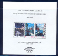 Année 1985 - Vignette TRBL4 ** - 150 Ans Des Chemins De Fer Belges - Zonder Classificatie
