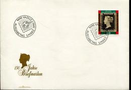 Liechtenstein Special Cover - Penny Black Anniversary - Giornata Del Francobollo