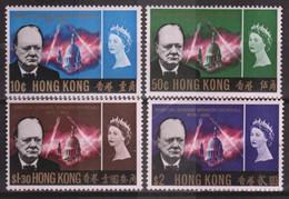 HONG KONG 1966, Mi# 218-221, CV €100, Architecture, Churchill Memorial, MNH - Unused Stamps