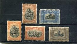 Portugal 1927 Yt 438-440 442-443 * - Unused Stamps