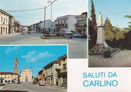 CARLINO  -CARTOLINA VIAGGIATA  - FG -1977 - Other Cities