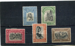 Portugal 1928 Yt 491-493 495 500 * - Unused Stamps