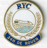 Pin's Rouen Yacht Club (RYC) 24 Heures Motonautique Course Bateau Offshore - Barche
