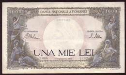 ROUMANIE - Billet 1.000 Lei  10 09 1941 - Pick 52 - Rumania