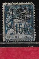 @  Perfin France  Perfore LE 49  Indice 8 - Gezähnt (Perforiert/Gezähnt)