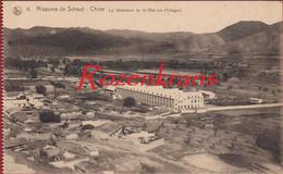 Le Seminaire De Si Wan Tze Tchagar Rare Old Missionary Postcard China Chine Missie Van Mission De Scheut CPA - China
